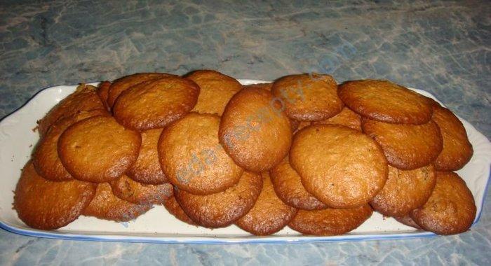 Рецепт овсяного печенья пошагово с фото