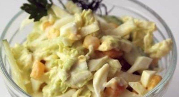 Салат из сельдерея черешкового с фото