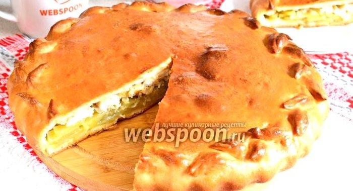Вкусный пирог с картошкой рецепт пошагово в духовке