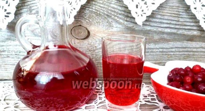 Настойка из клюквы на водке в домашних условиях - Раум Профи