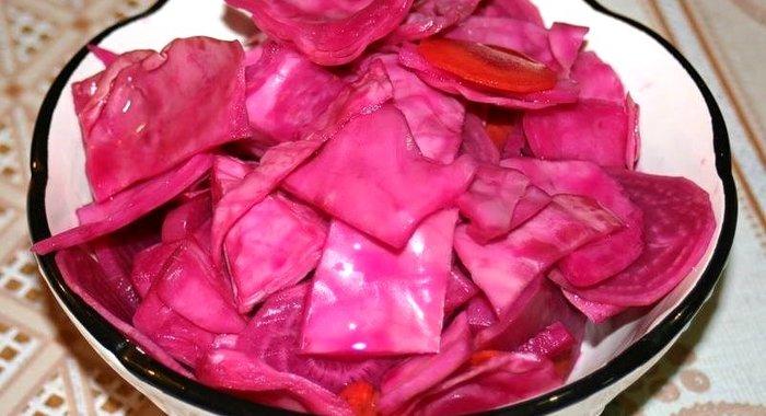 Пошаговый рецепт капусты пилюски со свеклой