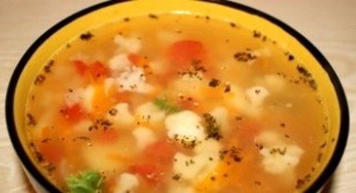 Суп с капустой брокколи рецепт с фото