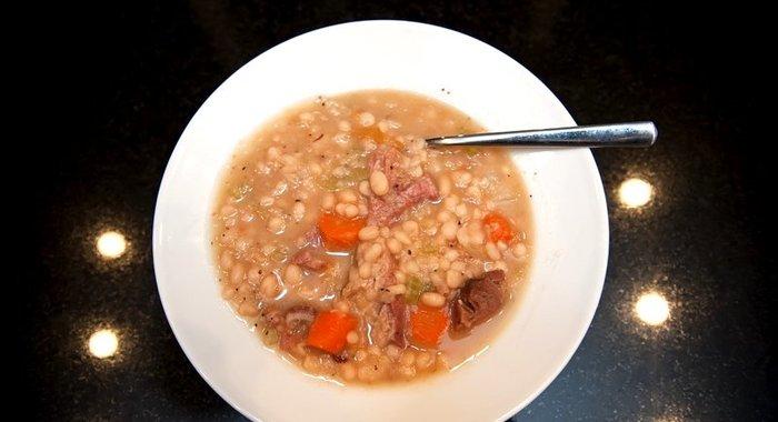 Суп фасолевый с мясом рецепт с пошагово