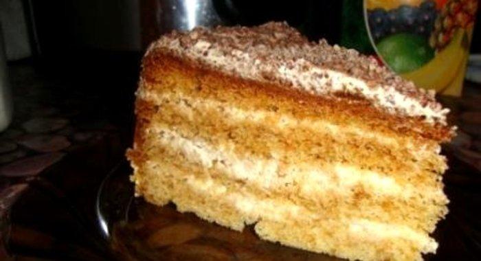 рецепти тортів в мультиварці з фото