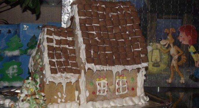 Готовим дома пряничный домик рецепт