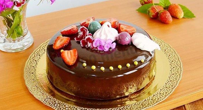 Муссовые торты с зеркальной глазурью рецепты