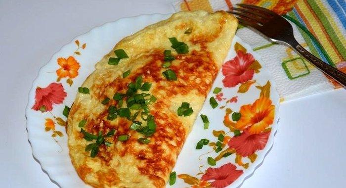 Фаршированный омлет пошаговый рецепт с фото