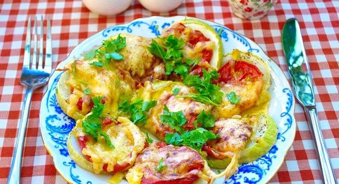 Кабачки духовке рецепты фото пошагово