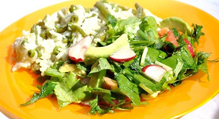 рецепты и фото овощных салатов