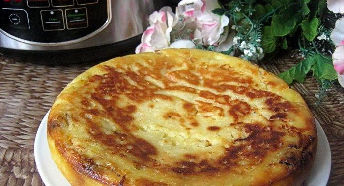 Пирог в мультиварке рецепты с на скорую руку без яиц