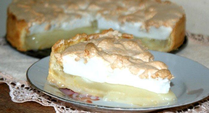 Лимонный пирогом кефире рецепт пошагово