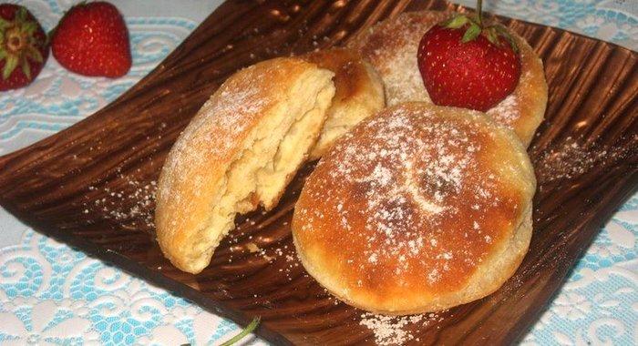 Домашние пышки рецепт пошаговый