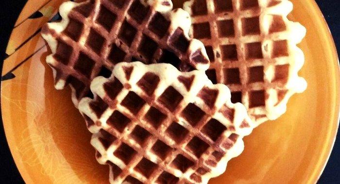 Вафли рецепт для вафельницы рецепт с пошагово в