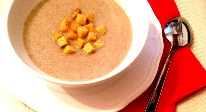 Суп крем из шампиньонов приготовить