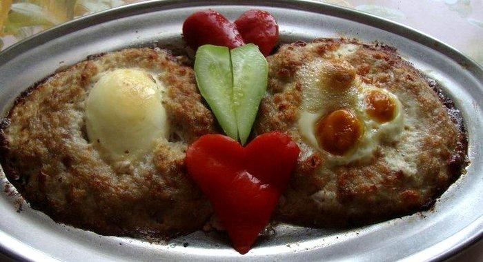 Котлеты ласточкино гнездо рецепт с фото