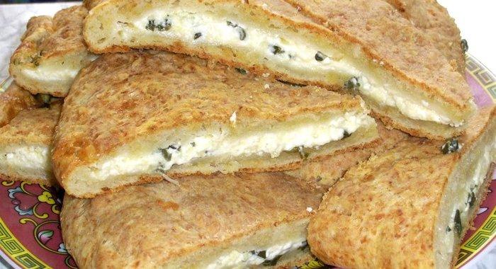 Хачапури с творогом и сыром рецепт в духовке из дрожжевого теста