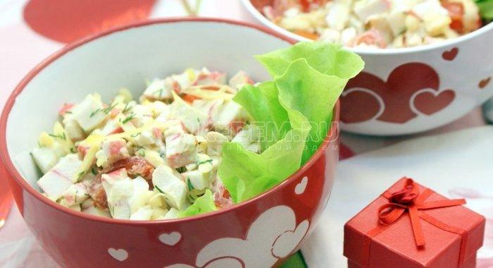 Любимые салаты рецепты с фото