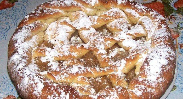 Торт с яблоками рецепт с пошагово в духовке