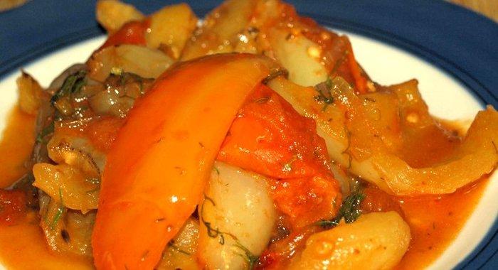 Болгарский перец рецепты приготовления с фото