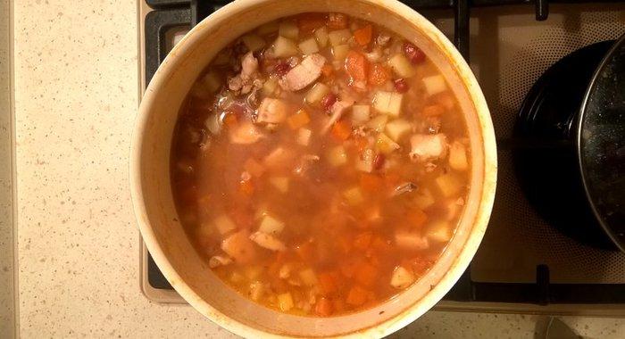 Гречневый суп рецепт с курицей пошагово с яйцом