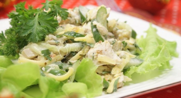 Греческий салат классический рецепт салата с фетаксой - фото