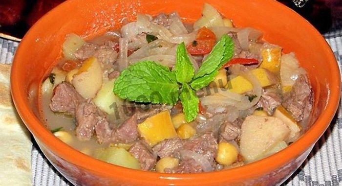 Суп из баранины рецепт пошаговый с