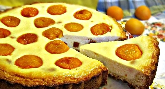 Пирог дрожжевой с абрикосами рецепт с пошагово