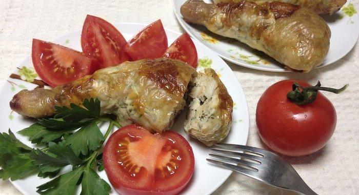 Пошаговый рецепт фото фаршированной курицы