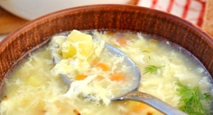 Суп с яйцом рецепт с фото пошагово
