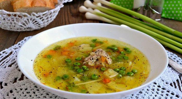 Куриный суп рецепт с фото пошагово без картошки
