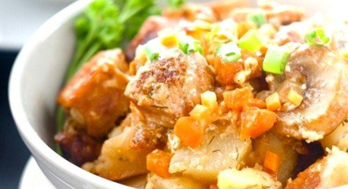 Картофель по корейски пошагово с