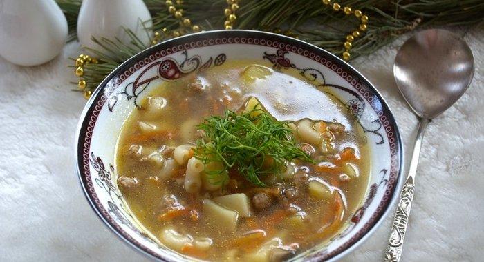 Размещен:  более рецептов приготовления супов в домашних условиях, все рецепты с фотографиями и подробными описаниями.