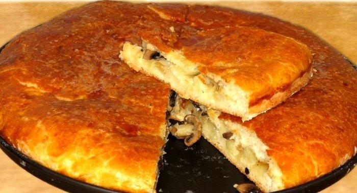Как приготовить картофельный пирог рецепт с