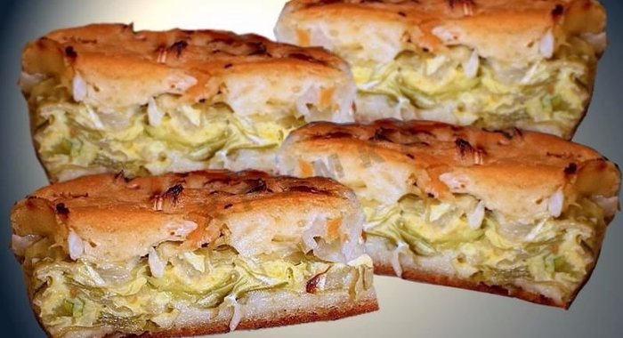 Пирог из капусты пошаговый рецепт с фото