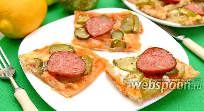 Закуски колбасой рецепты фото