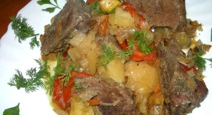 Рагу овощное с фаршем пошаговый рецепт с