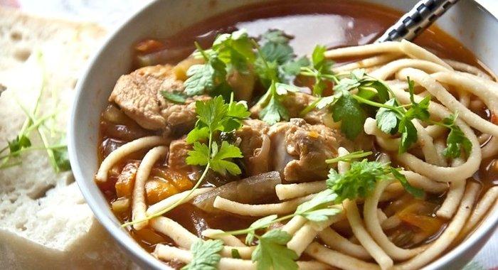 Суп с лисичками и курицей рецепт пошагово