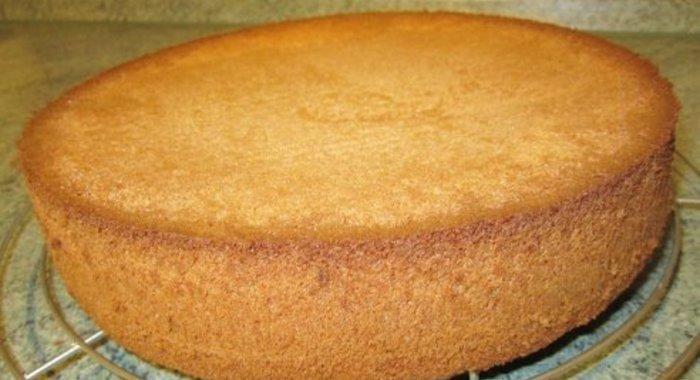 Бисквит рецепт простой рецепт с фото пошагово в домашних условиях