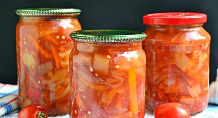 Лечо с морковью и луком на зиму рецепты с фото пошагово