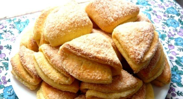 Печенье из творога пошагово с
