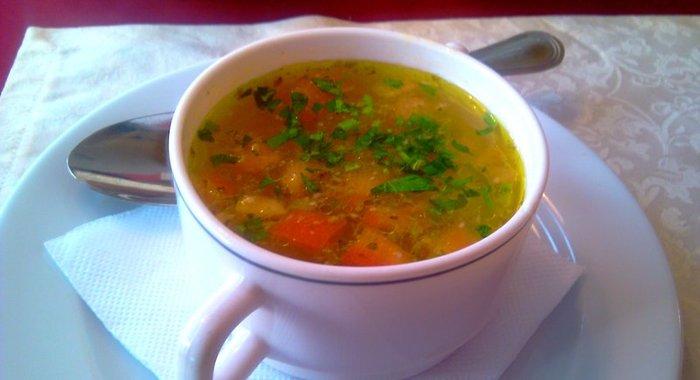 фото пирогов салатов супов