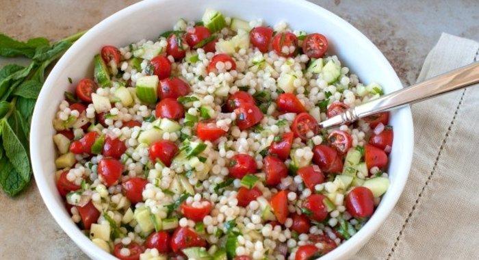 Рецепты салатов из кускуса