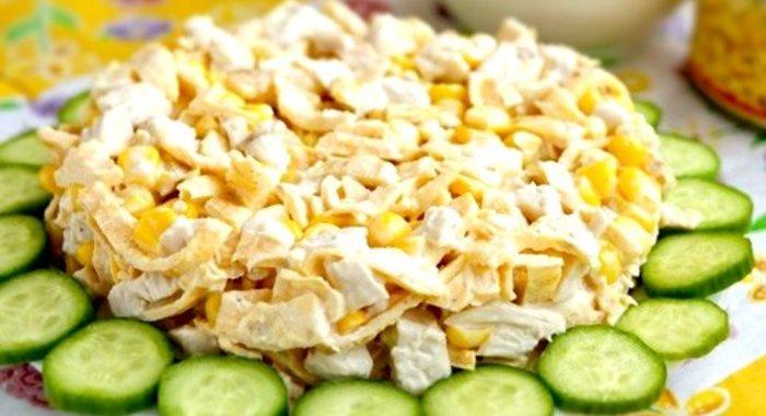 Как сделать блинчики из яйца на салат