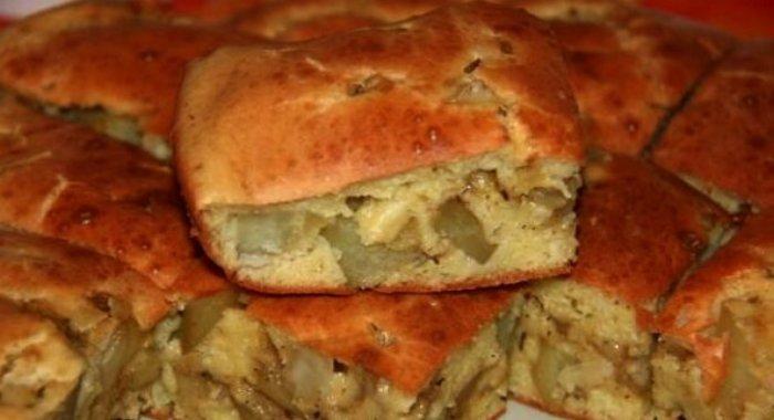 Рецепт пирога с картошкой простой рецепт с