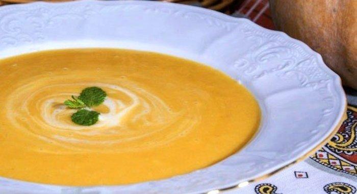 Пошаговые рецепты с тыквенный суп