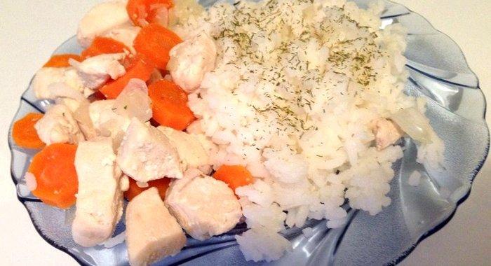 Как приготовить курицу с морковкой и луком