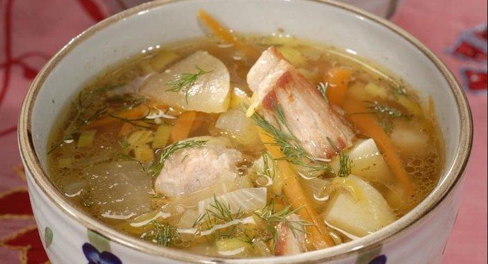 Супы из свинины рецепты с фото простые