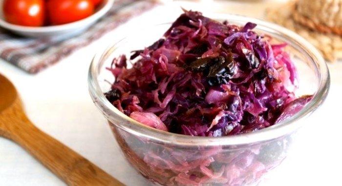 Квашеная капуста краснокочанная рецепт с фото