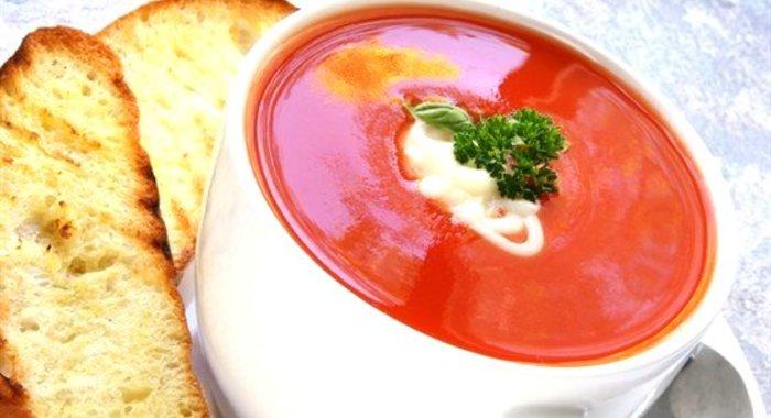 Томатный суп пюре классический рецепт с фото пошагово