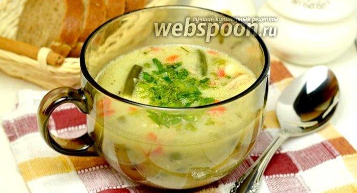 Суп с плавленным сыром в мультиварке рецепты пошаговые